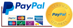 Secure Checkout and site verified by PayPal, we accept all major credit cards such as PayPal, MasterCard, VISA, AMEX, Maestro, SWITCH, SOLO and DELTA
