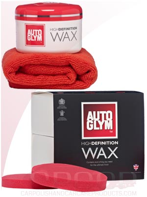 AutoGlym High Definition Wax Kit Gift Item