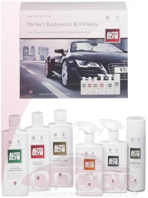 AutoGlym Perfect Bodywork and Wheels Collection Gift Pack