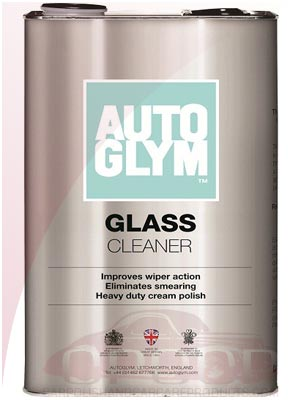 AutoGlym Glass Cleaner / Polish 5 Litre