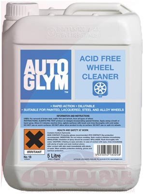 AutoGlym Acid-Free Wheel Cleaner 5 Litre or 25 Litre