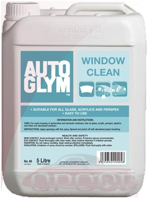 AutoGlym Window Cleaner 5 Litre / 25 Litre