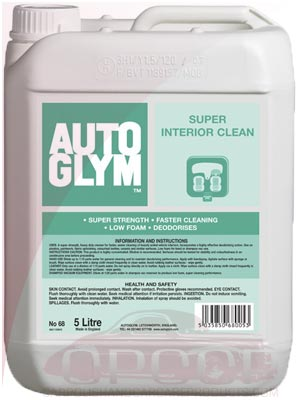 AutoGlym Super Interior Cleaner 5 Litre / 25 Litre