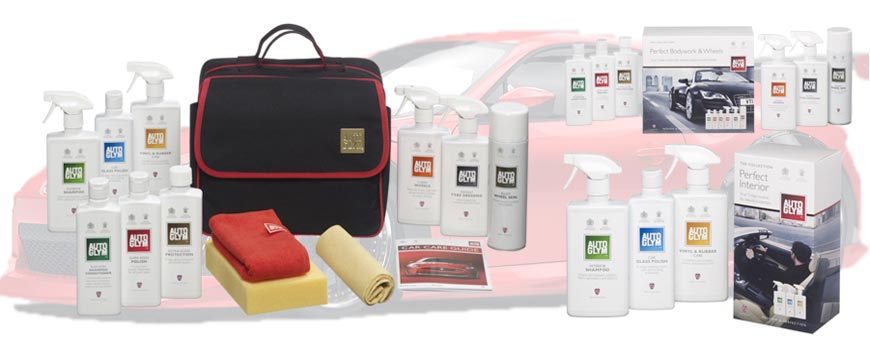 Car Polish and Car Care Product Gift Collections
